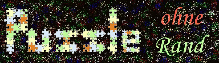 Puzzle ohne Rand -